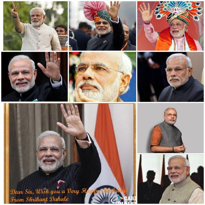 Wish You a Very Happy Birthday Shri Narendra Modi Ji!