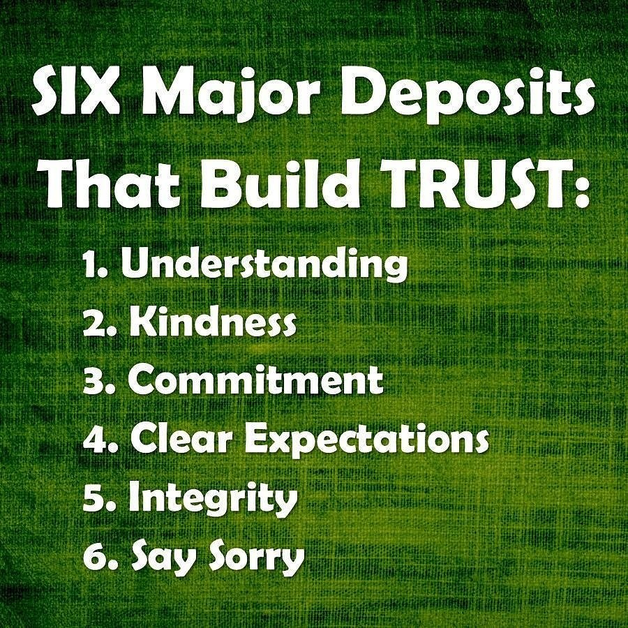 #Emotional #Deposits required to build #trust: #Understanding #kindness #commitment #integrity #saysorry #7habits #ThinkBIGSundayWithMarsha<br>http://pic.twitter.com/3c1TQOOgkr