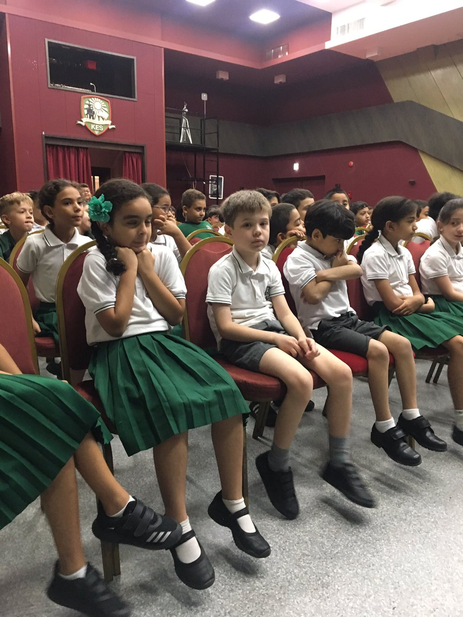 Year 3 enjoyed their first assembly of the year this morning. #KESjuniors #ScienceSunday <br>http://pic.twitter.com/dK6q7LkHmx
