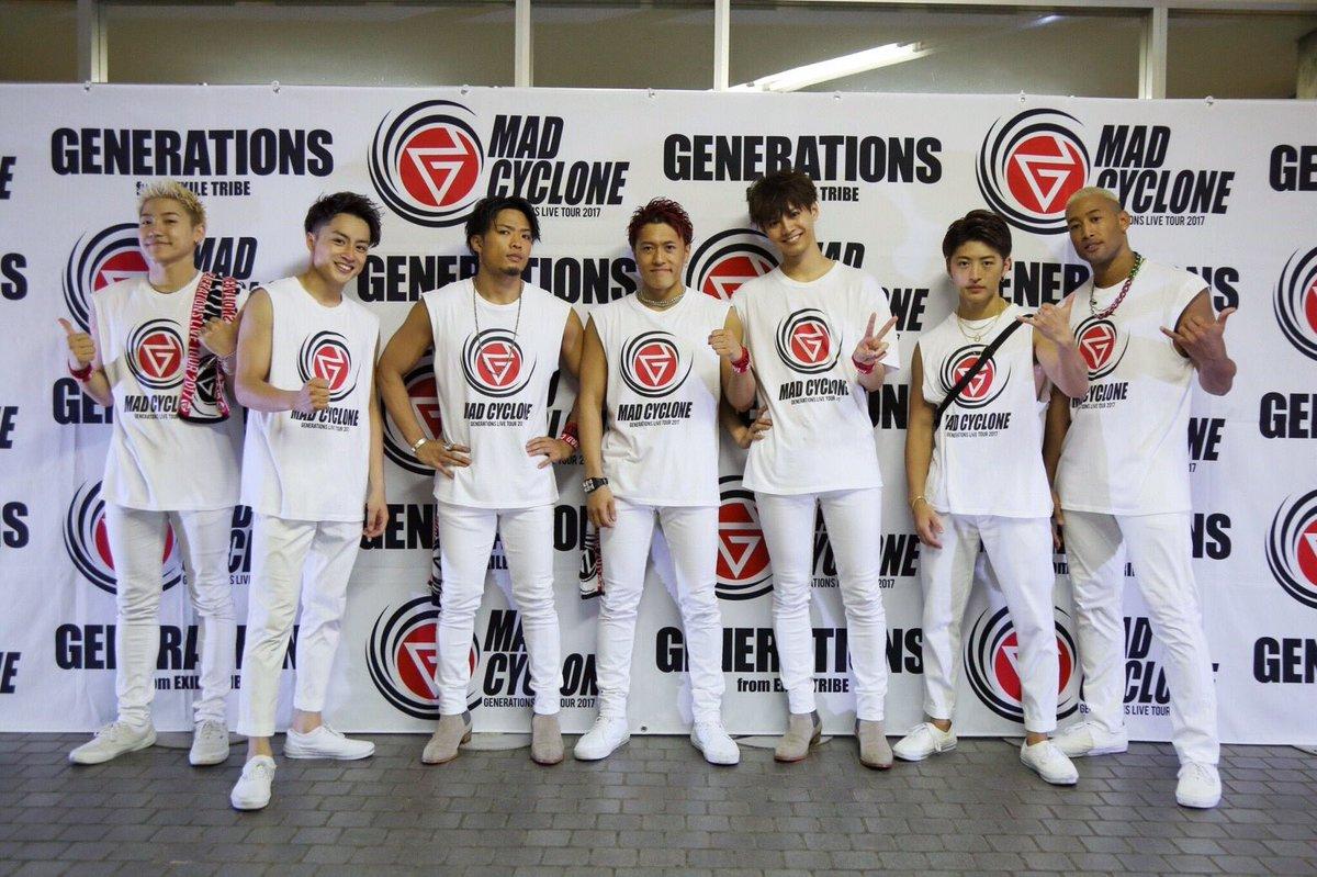 北海道 ありがとうございました🙏  #GENERATIONS #MADCYCLONE #北海道 #真…