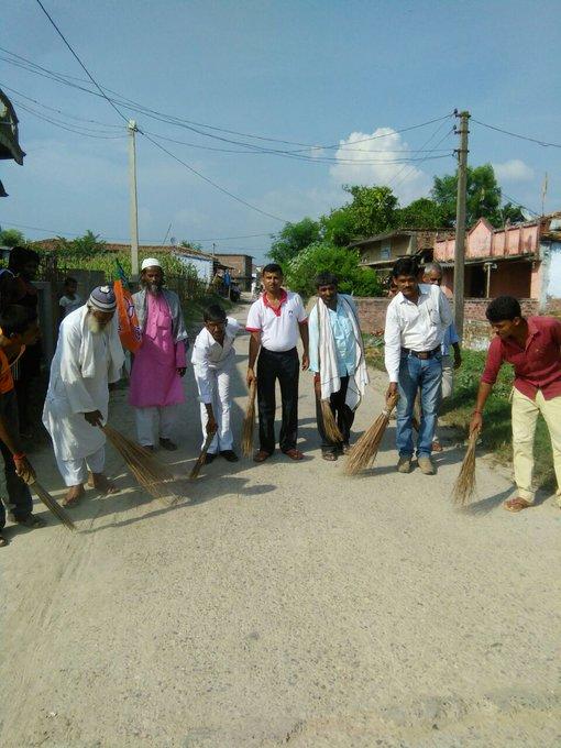 Shree narendra modi ji happy birthday we sported you clean and green india