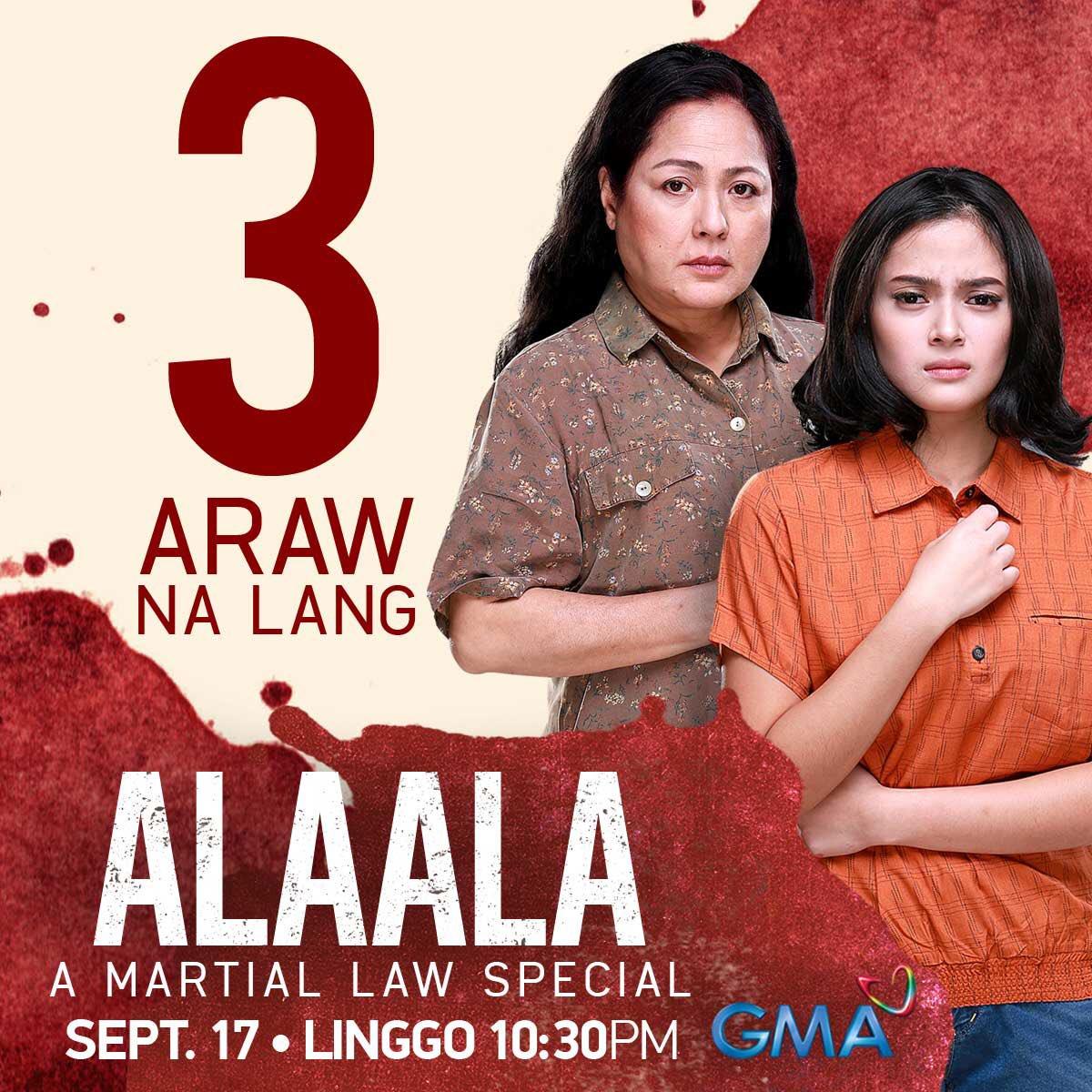 Alaala A Martial Law Special (2017)