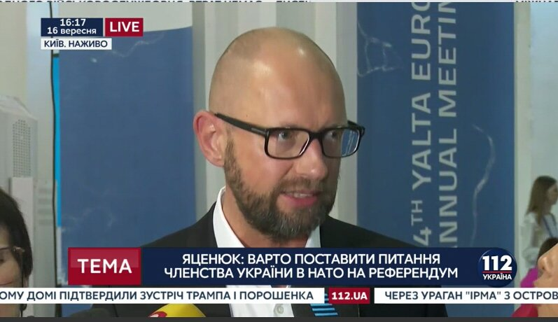 Seriously... Only in #Ukraine   Yatsenyuk: &quot;It&#39;s in #NATO&#39;s interests to have Ukraine as a member. Our troops defend NATO&quot; <br>http://pic.twitter.com/Dw5tIeUZHi