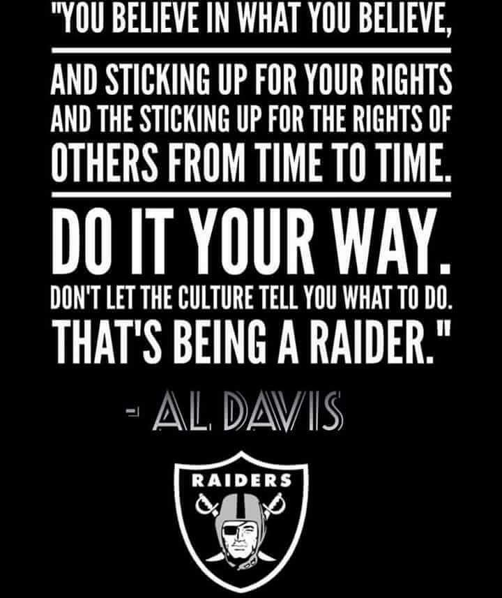 Marching Orders. #Al #RaiderNation <br>http://pic.twitter.com/JQNj2bKf0H