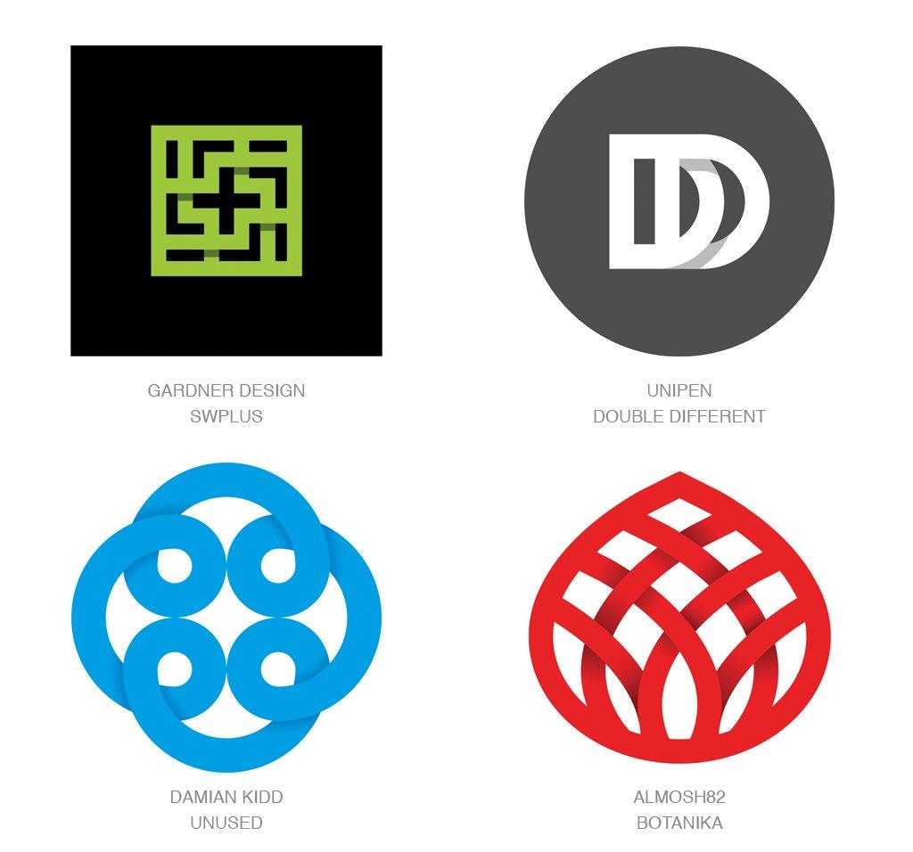 #设计参考 2017年 LOGO 设计趋势 // 2017 Logo Trends https://t.co/A3Vb7IFB59 https://t.co/etJvOmTUbQ 1