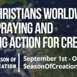 Christians celebrate the #SeasonofCreation. Protecting our common home matters to us because it matters to everyone https://t.co/oJc6U83I1y