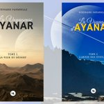 #LaVoyageusedAyanar aux éditions @Numeriklivres  #sciencefiction #fantasy https://t.co/uzN9FvHXsY