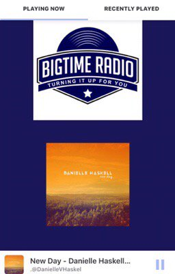 Tuned in &amp; heard #NewDay Thank u @bigtime_radio &quot;every minute is a chance to #startover&quot;  https:// itunes.apple.com/us/album/new-d ay/id1079888755?i=1079888761 &nbsp; … <br>http://pic.twitter.com/jt3jKzThcd