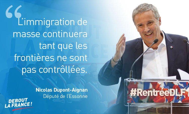 Absence de contrôles aux frontières, appel d'air migratoire, tourisme social : rétablissons l'ordre en France autour d'un  #ProgrammeCommun