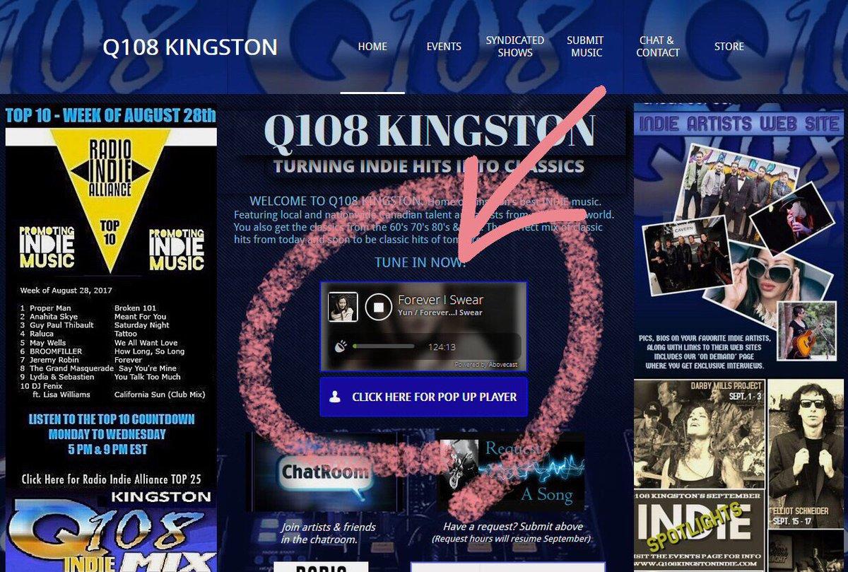 q108kingston hashtag on Twitter