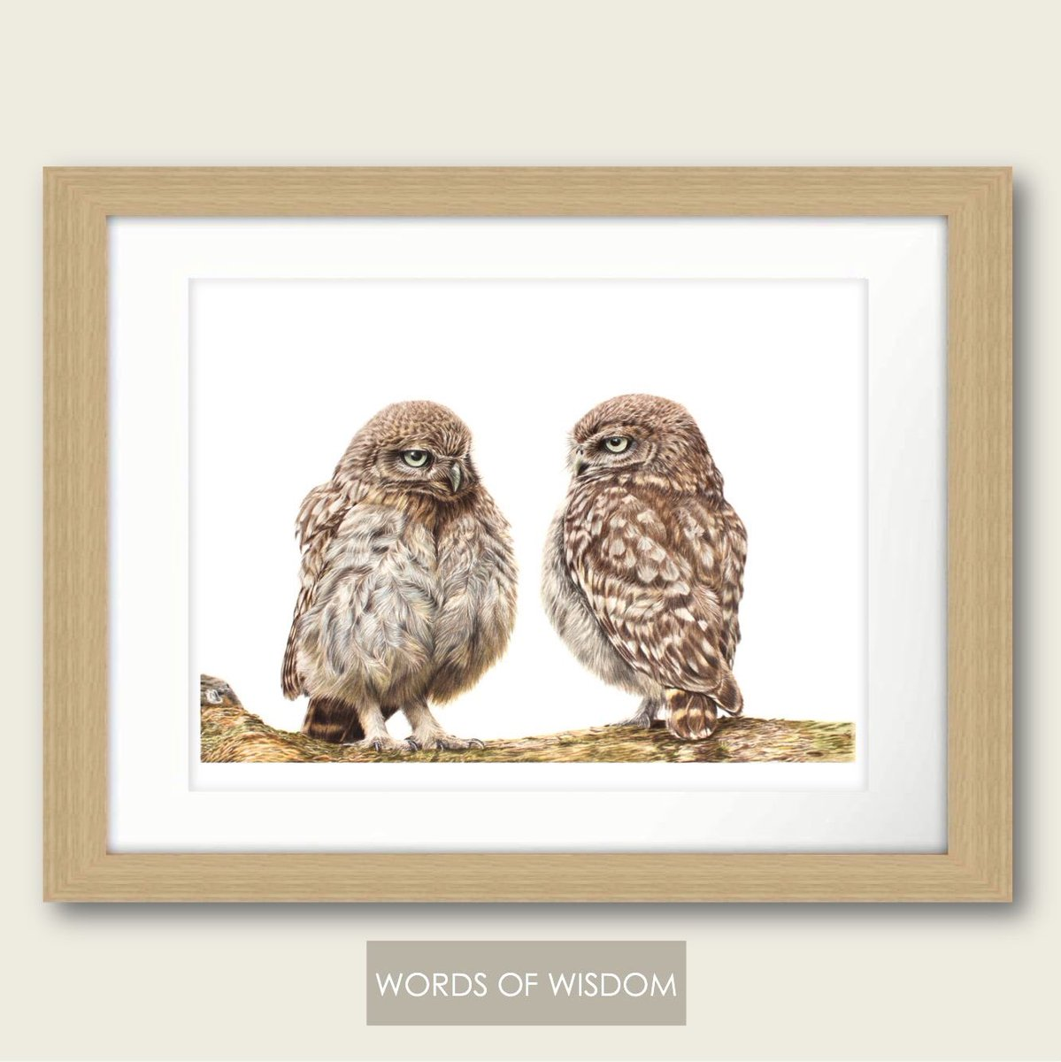 &quot;A Sunday well spent brings a week of content.&quot; This weeks #SundayShare is the Limited Edition Print &#39;Words of Wisdom&#39;. <br>http://pic.twitter.com/gLSqoWRSLN