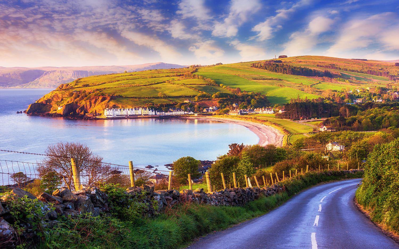 что фото пейзажей ирландии время