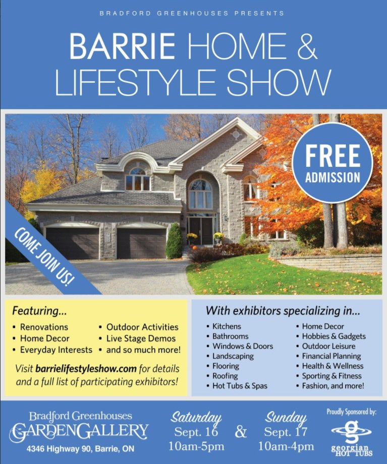 Dont Forget To Join Us Today From 10am 4pm For The Last Day Of Barrie Home