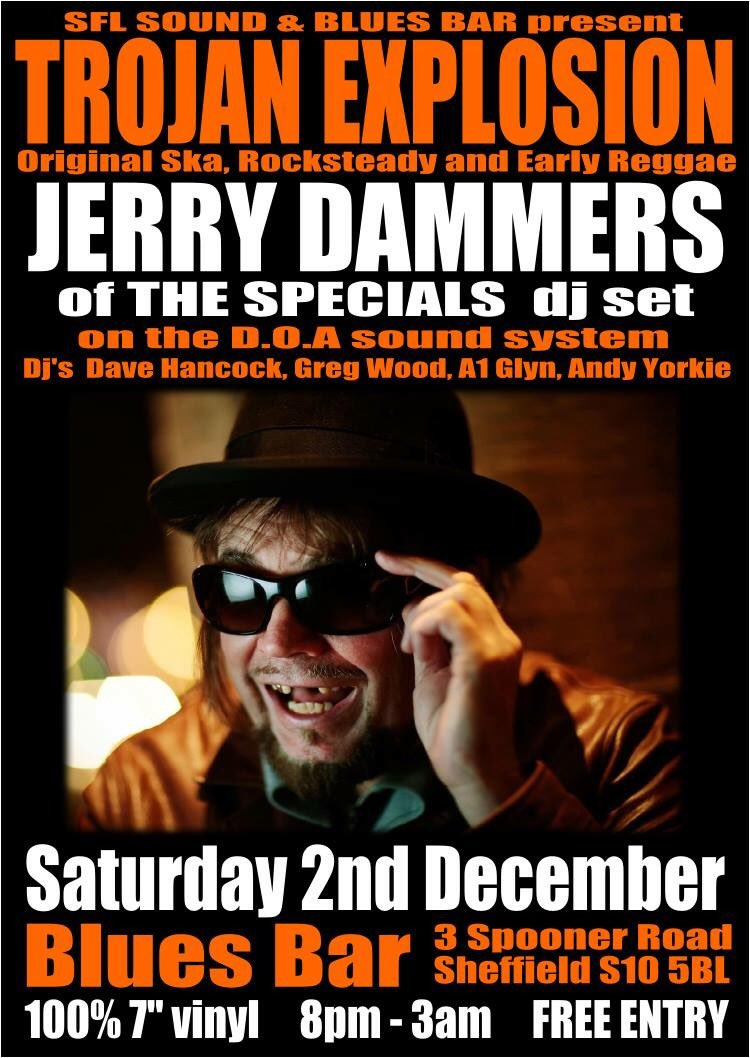 Exciting events to come for us..this is one for Dec #sheffieldissuper #sms #reggae #jerrydammers<br>http://pic.twitter.com/fxWc9XLW8S