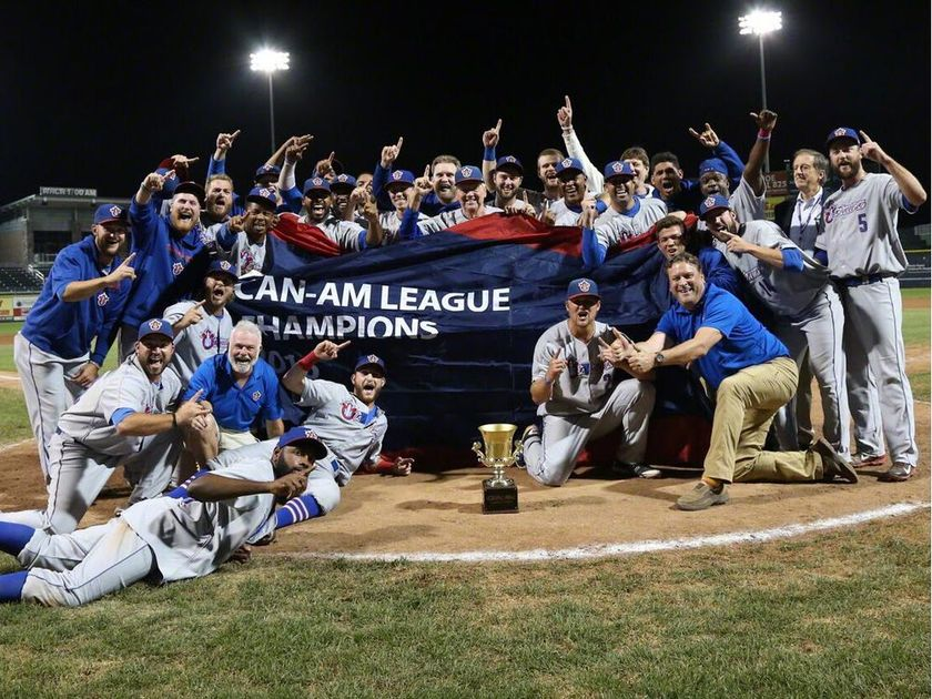 One year ago, I called the first pro sports title for Ottawa in 21 years.  @OttawaChampions won the #CanAm championship on Sept. 17, 2016. <br>http://pic.twitter.com/MdB7nDfmYY