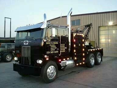 truckcam tv on twitter great cabover wrecker tow truck. Black Bedroom Furniture Sets. Home Design Ideas