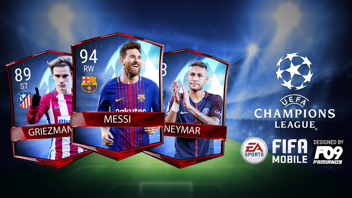 My #FIFAMobile #championsleague card design concepts!! #uefa #uefachampionsleague<br>http://pic.twitter.com/YoDSJTffjA