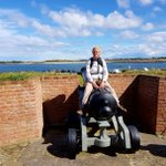 South Cots in Guernsey. Sally gets to grip with a Canon.