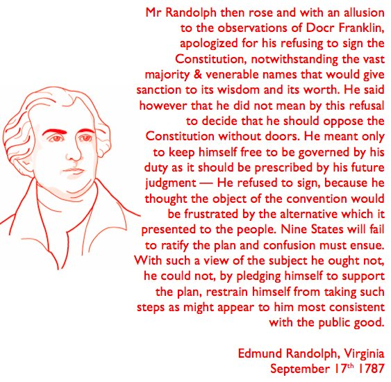 Quill Project On Twitter 7 Edmund Randolph Repeated His Concerns