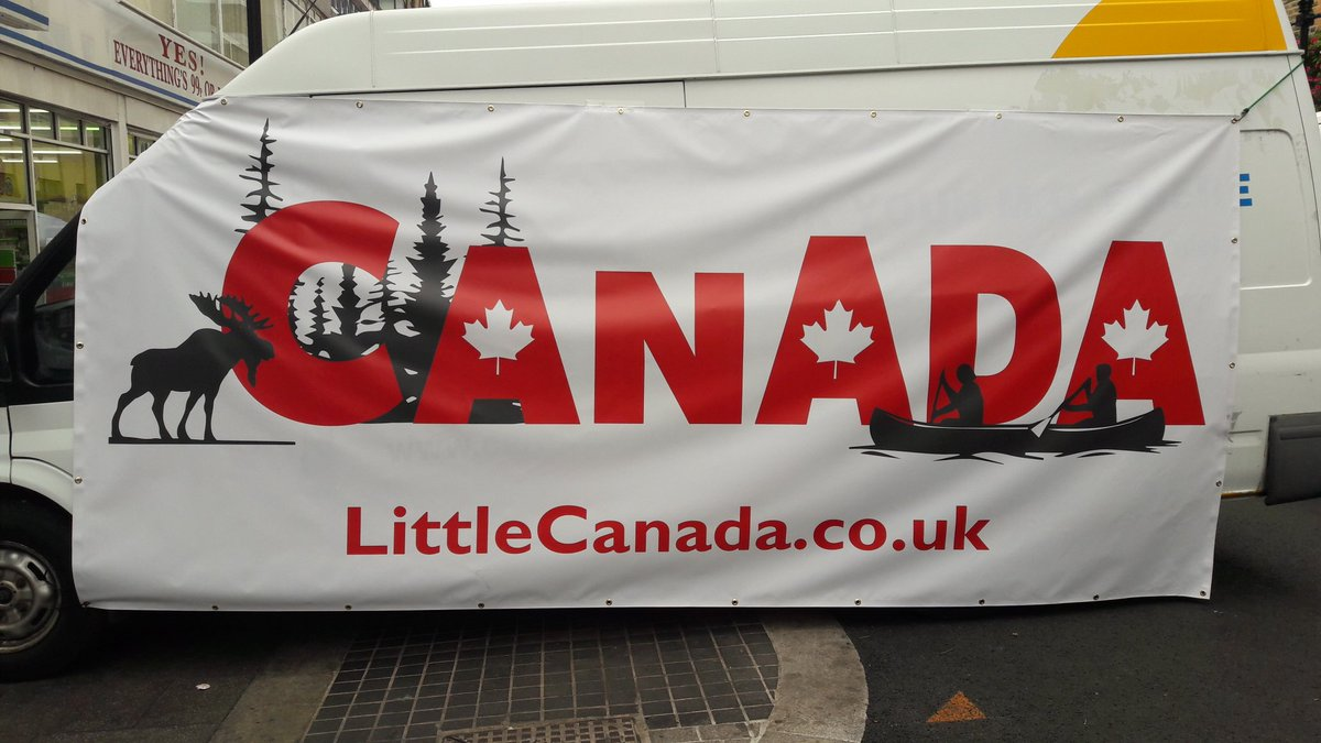 Great #CanadianMoment at @LittleCanadaUK market in Croydon! We look forward to the next!! @LondonCanucks @CanadianUK #CanadaUK #Poutine <br>http://pic.twitter.com/gw5hnO2mBQ