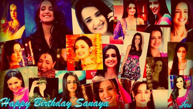 Happy birthday sanaya