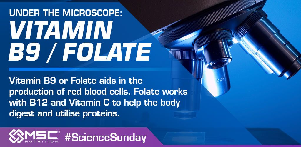 Vitamin B9 or #FolicAcid aids in the production of red blood cells. #ScienceSunday <br>http://pic.twitter.com/yrJfRDlMOU