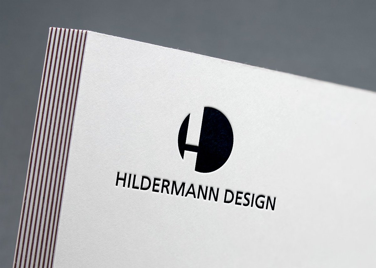 Hildermann Design On Twitter Neue Visitenkarten 85x55 Mm