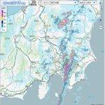 気象庁によりますと、山梨県の富士山西部付近で午前2時10分までの1時間にレーダーによる解析で、およそ…