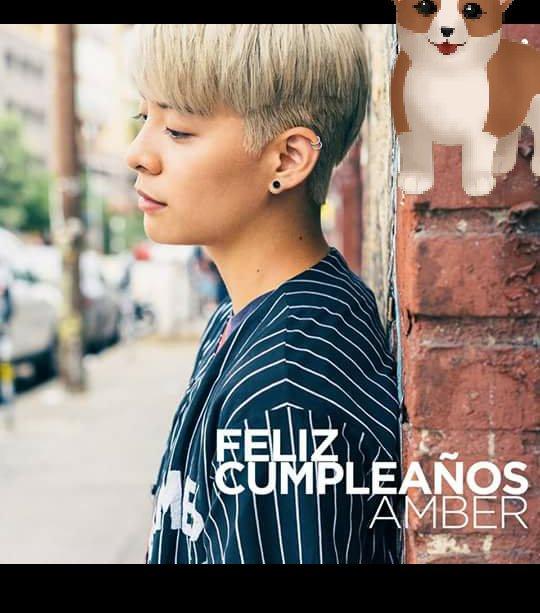 Happy Birthday amber liu I love you