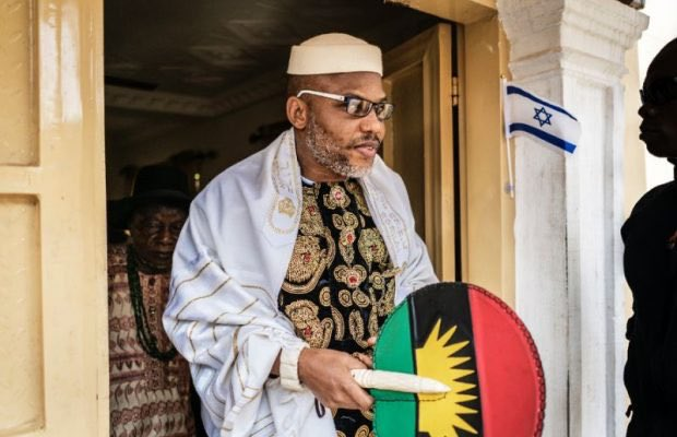 IPOB has declared Nnamdi Kanu missing following invasion of his residence by military men; alleges that he is being held in Kaduna or Kano prison.