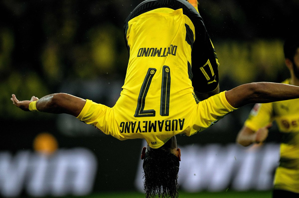 Dortmund bounce back, beating Köln 5-0:  ⚽️⚽️ 1st club goals for Philipp ⚽️⚽️ Aubameyang on 8 in 17/18 ⚽️ 1st since April for Sokratis  #UCL