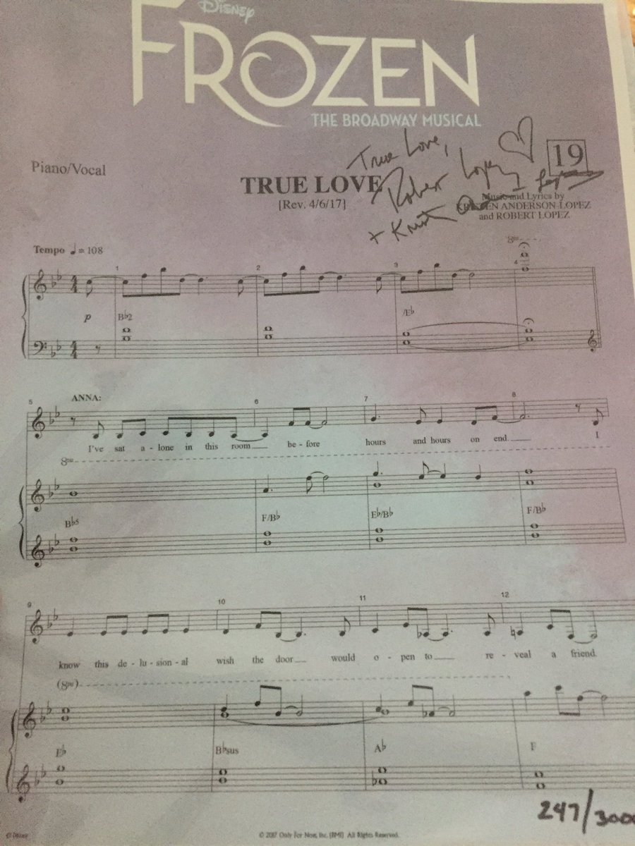 Love sheet music
