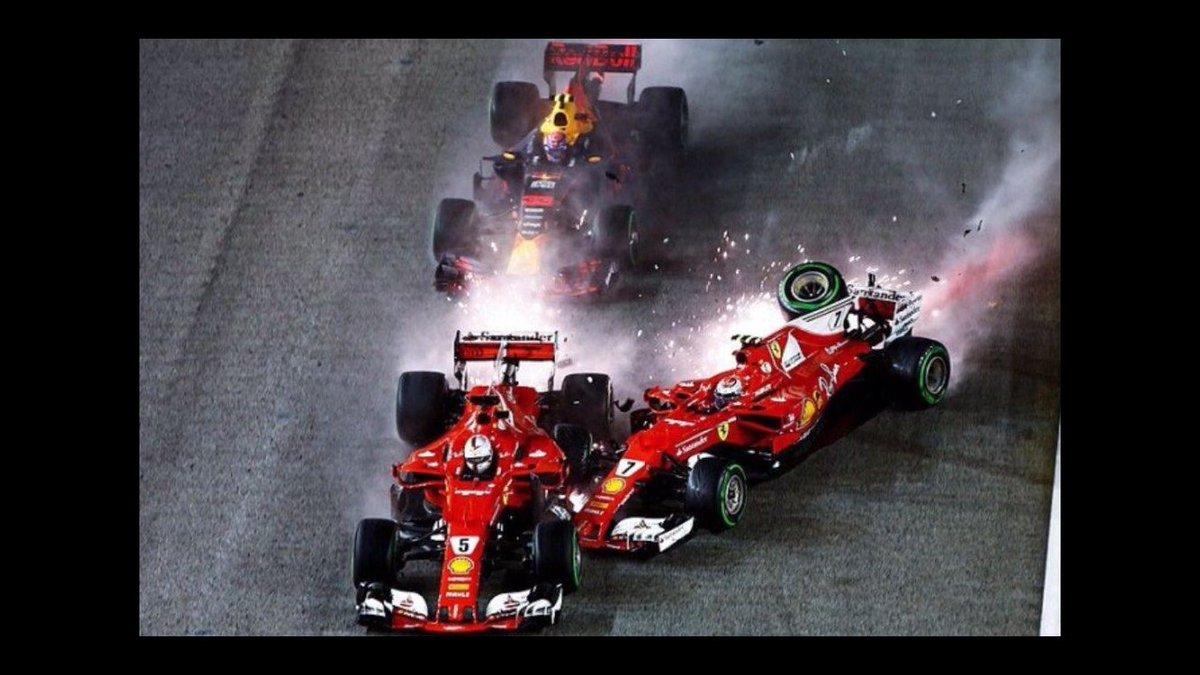 Het laatste hierover:En Ferrari maar roepen dat Verstappen én Rai én Vettel eraf rijdt..... yeah right https://t.co/gUUzBZnGly