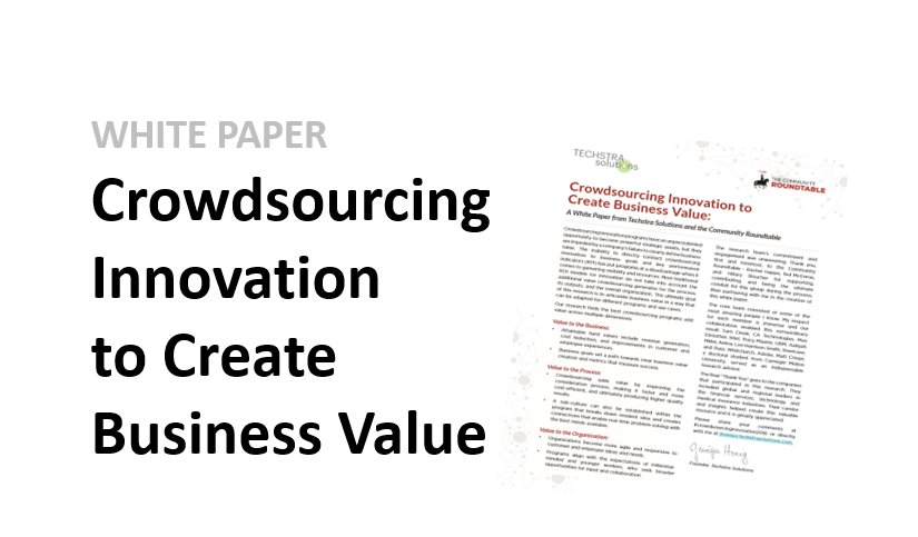 Change your view on #crowdsourcing - download Techstra Solutions&#39; Whitepaper here --&gt;  http://www. techstrasolutions.com/innovation/  &nbsp;  <br>http://pic.twitter.com/vucxAVDF40