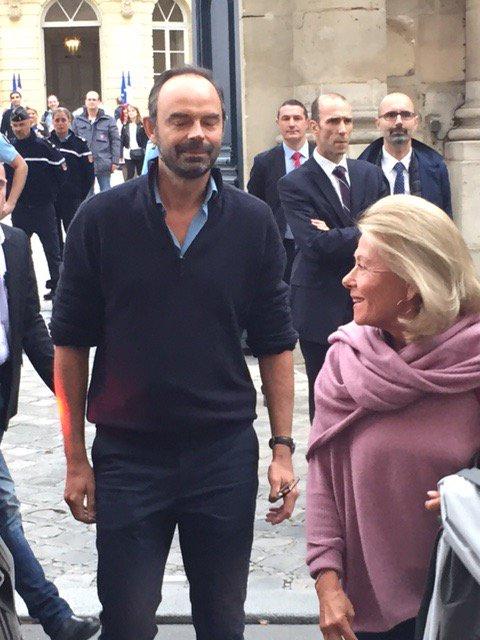 Journée du patrimoine à Matignon: 1er ministre charmant !