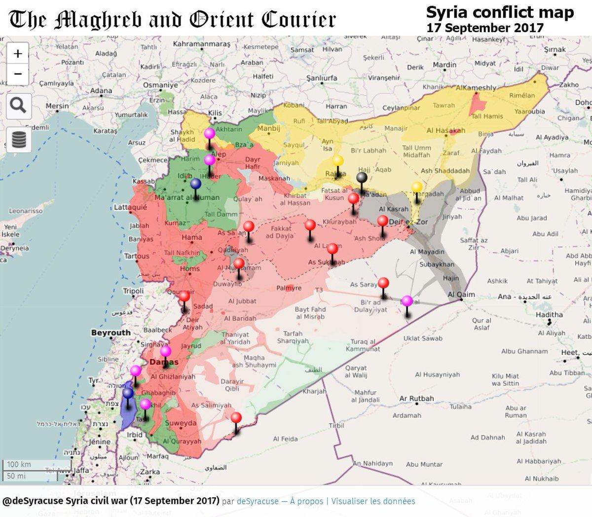 Agathocle DeSyracuse DeSyracuse Twitter - Syria map