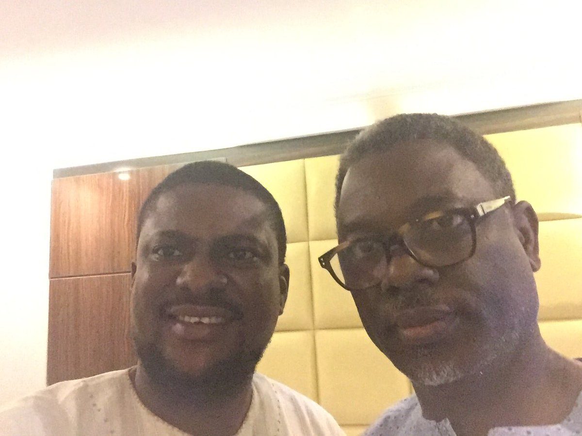 Sat in the same room almost every weekday with this brilliant Egbon Akin Osuntokun.   #PDP #Strategy #2019<br>http://pic.twitter.com/c3OIaBKCrr