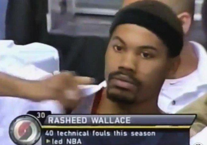 (2001) Happy birthday Rasheed Wallace.