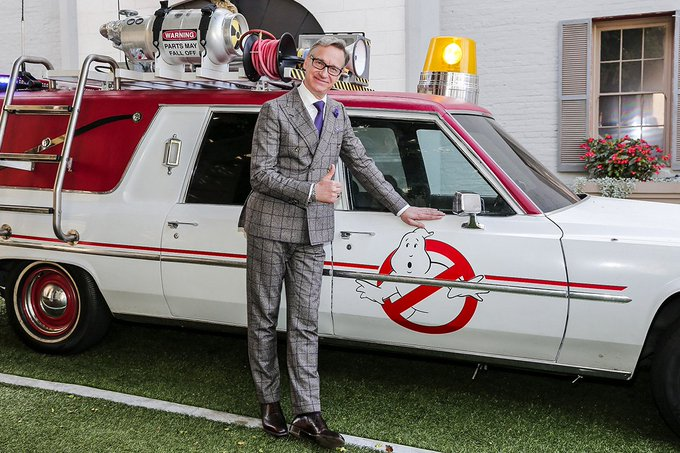 Happy Birthday to the talented and always dapper Paul Feig!