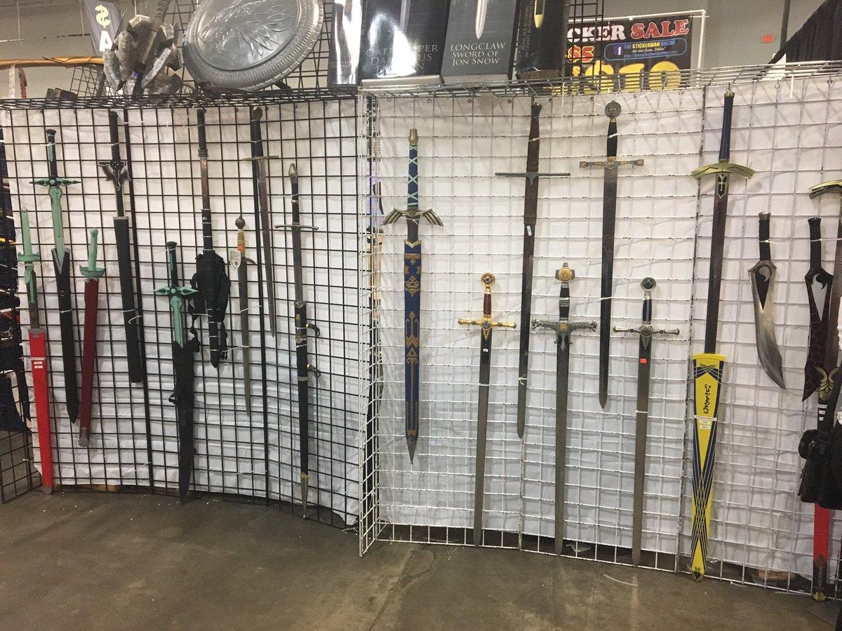 Looking swords