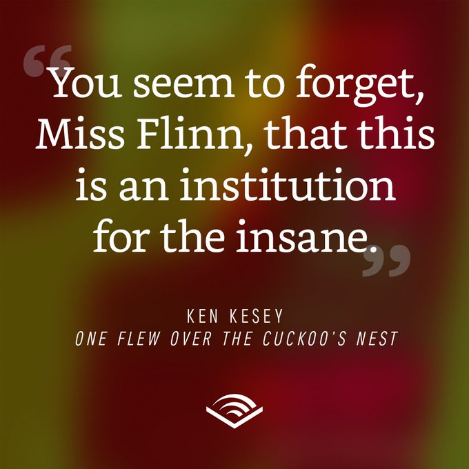 Happy birthday to Ken Kesey, born in 1935.