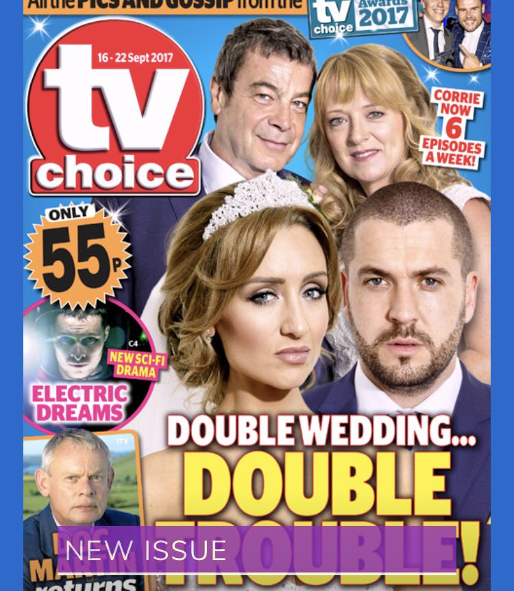shayne ward army on twitter grab copies of inside soap tv choice what 39 s on tv magazines for. Black Bedroom Furniture Sets. Home Design Ideas