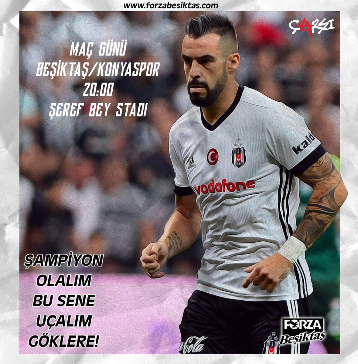 #BeşiktaşınMaçıVar #AlvaroNegredo Şampiyonluk için engelleri aş Haydi...