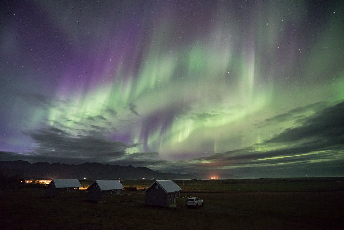 Wonderful Northern Lights show in Iceland, 15th September. Thanks to Christophe Suarez @suarezphoto #NorthernLights #StormHour<br>http://pic.twitter.com/UUGPNMe8KF