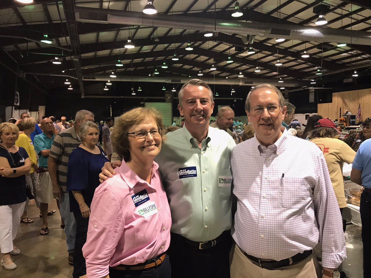Thank you to @EdWGillespie for attending my annual BBQ. We had a great time, thanks to all who came out and made it a success!