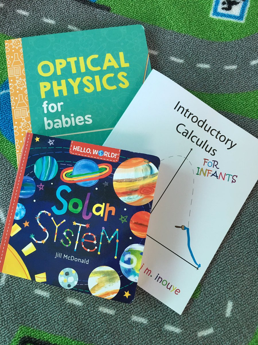 Hope my 2 year old is as excited as I am to read these! #ScienceSunday <br>http://pic.twitter.com/hzzyEE3YeW
