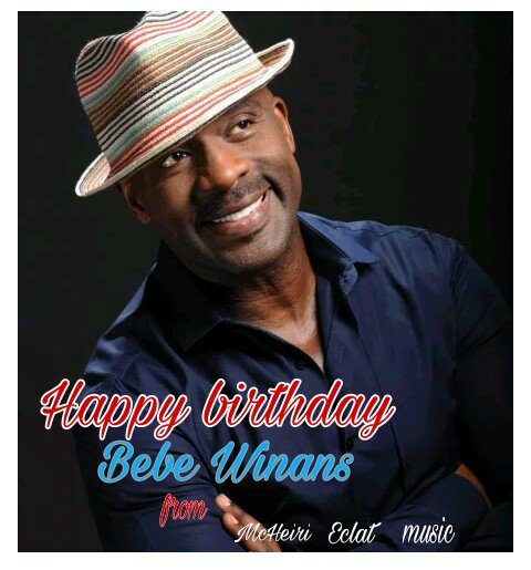 Happy birthday to the amazing Bebe Winans... God bless you richly.. Much love from