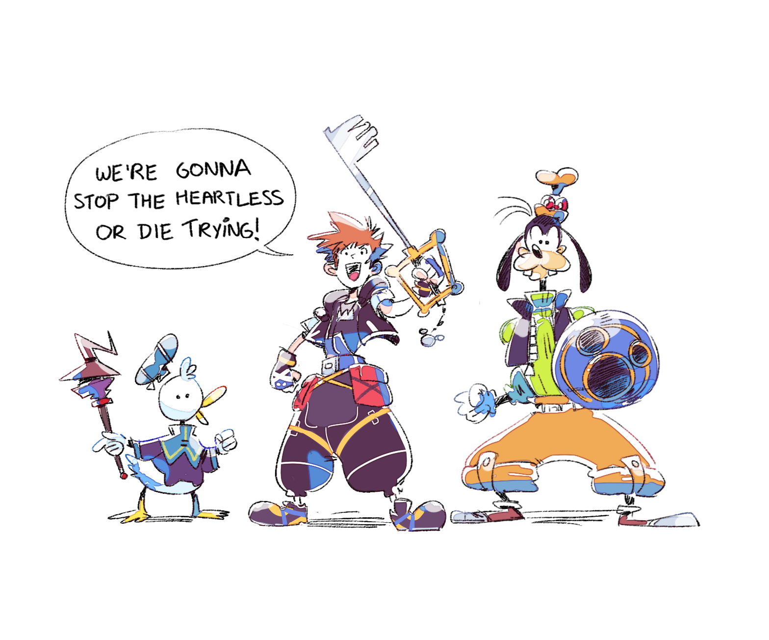 a scene from disney's three muskateers that seemed to fit into kingdom hearts... https://t.co/rF78zBuvAD