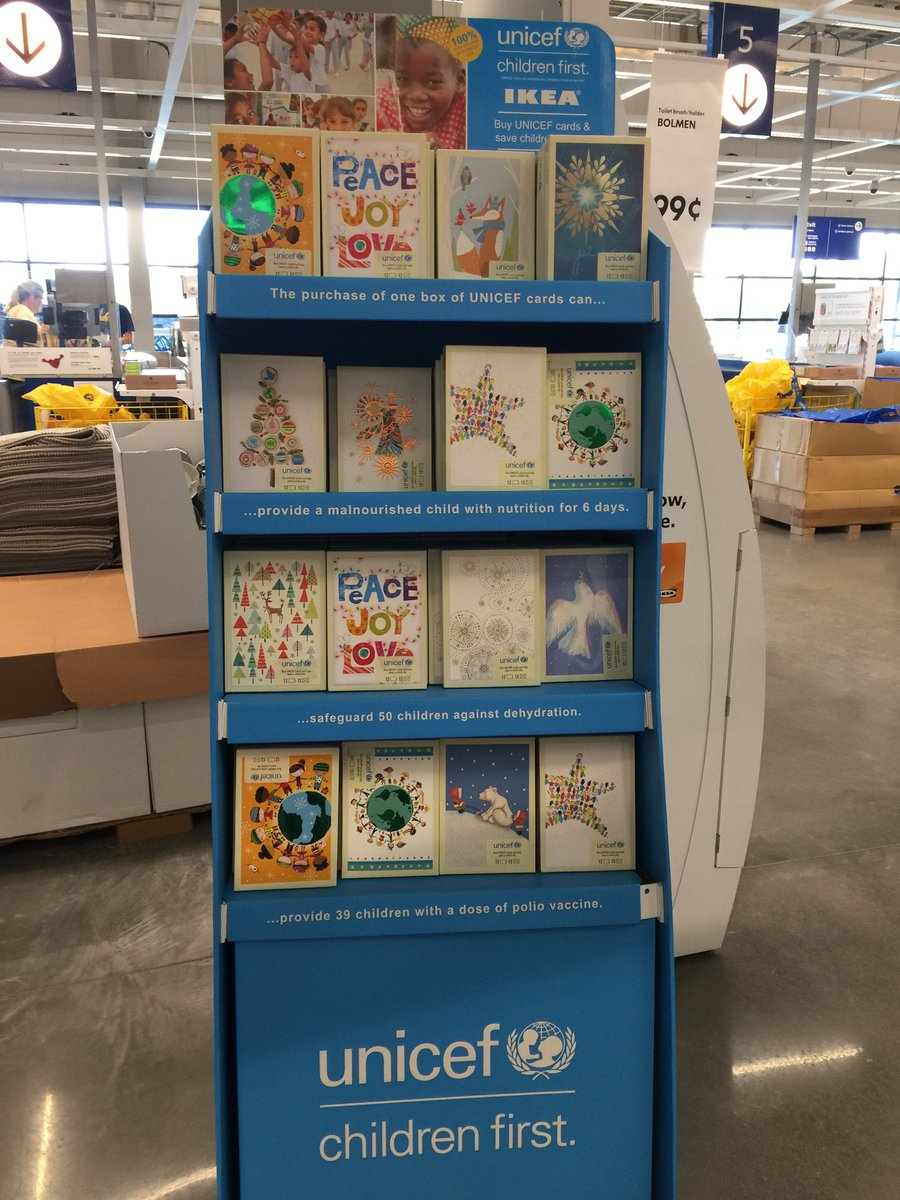 ikea memphis on twitter have you picked up your unicef holiday cards yet 100 of the proceeds go to humanitarian aid efforts for children across the - Unicef Holiday Cards