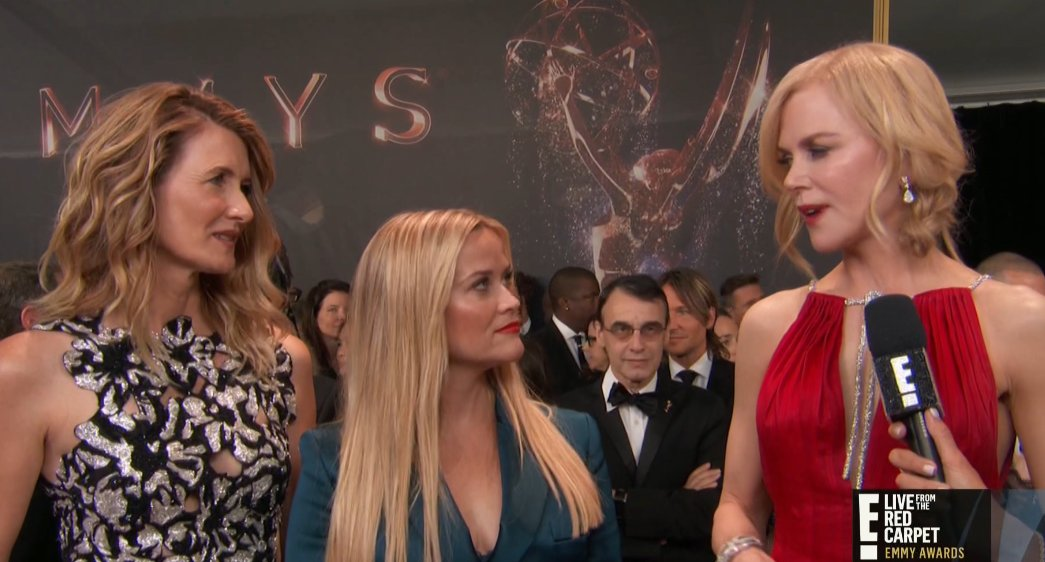 The ladies of Monterey have arrived at the #Emmys! #BigLittleLies http...